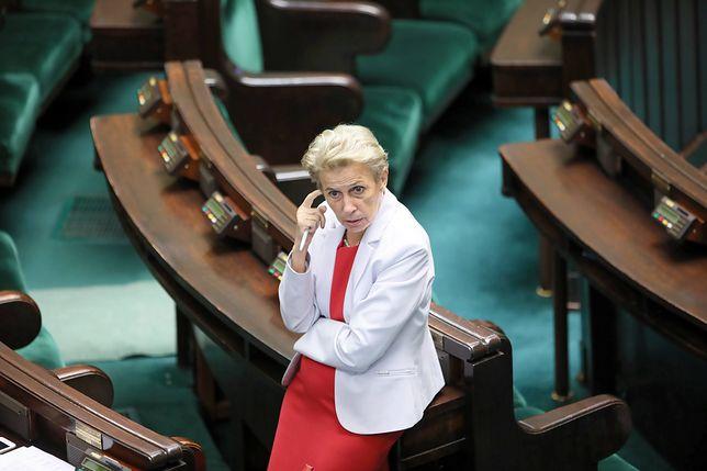 Iwona Śledzińska-Katarasińska ma zostać marszałkiem seniorem Sejmu