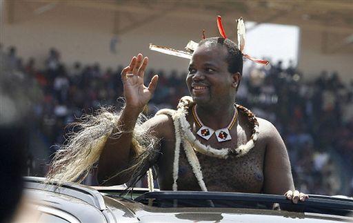 15. Mswati III - król Suazi