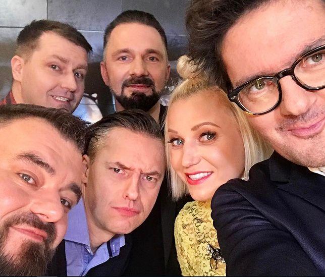 Na kanapie Wojewódzkiego zasiadła Daria Ładocha i Kabaret Młodych Panów