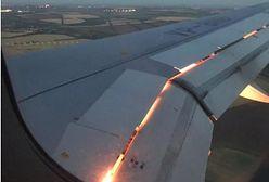 Mundial 2018. Pożar silnika samolotu z piłkarzami. Jest nagranie