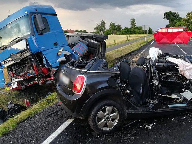 Śmiertelny wypadek na DK 55 w Kamionce