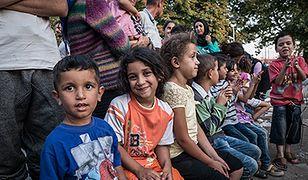 Obóz imigrantów w Belgradzie