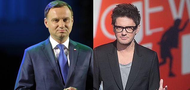 Andrzej Duda nie wystąpi w talk show Kuby Wojewódzkiego