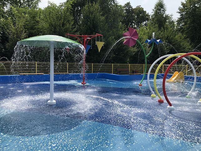 Śląskie. Wodny plac zabaw dla dzieci w Bytomiu kosztował prawie 1 mln zł.