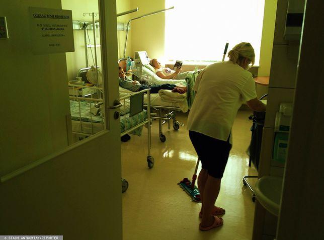 Koronawirus. Personel pomocniczy w ochronie zdrowia też będzie walczyć o swoje