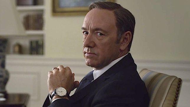 """Kevin Spacey był wielką gwiazdą serialu """"House of Cards"""""""