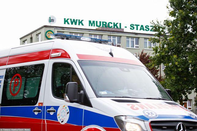 Silny wstrząs w kopalni Murcki-Staszic w Katowicach