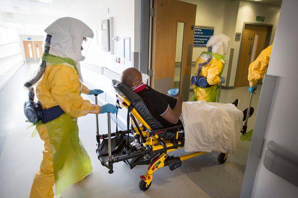 Zarażonych wirusem Ebola jest jest ponad osiem tysięcy osób