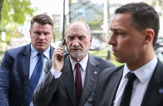 Szef MON rozmawiał ministrami UE o zbrojeniówce