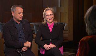 Tom Hanks i Meryl Streep w wywiadzie dla CNN