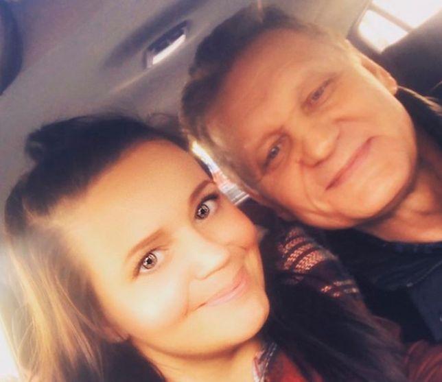 Agnieszka opowiedziała o stanie zdrowia swojego taty