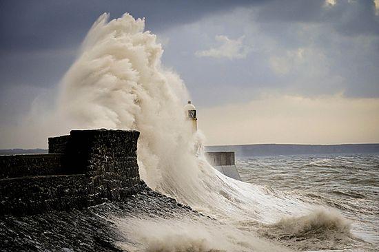 Najpierw wichura i sztorm, a teraz powódź - zdjęcia