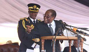 Robert Mugabe - najdłużej rządzący dyktator afrykański