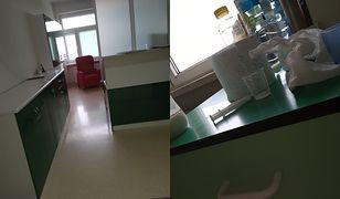 Pani Karolina zauważyła, że fotel od WOŚP stoi w dyżurce pielęgniarek.