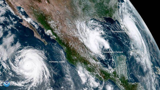 Pogoda. Huragan Dorian unosi się u wybrzeży Florydy. Na razie na wyspach Bahama zginęło 20 osób i 1 w USA