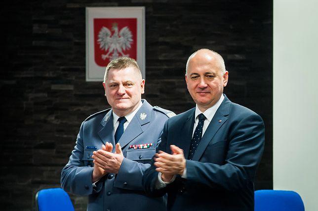 Joachim Brudziński nie ma nic do zarzucenia policjantom