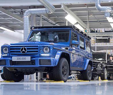 Mercedesowi zajęło 38 lat, aby wyprodukować 300 tys. egzemplarzy Klasy G