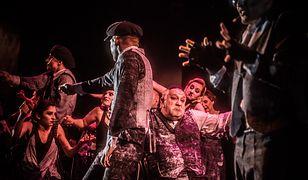 """Zdjęcie z próby musicalu """"Śpiewak Jazzbandu"""" w warszawskim Teatrze Żydowskim"""