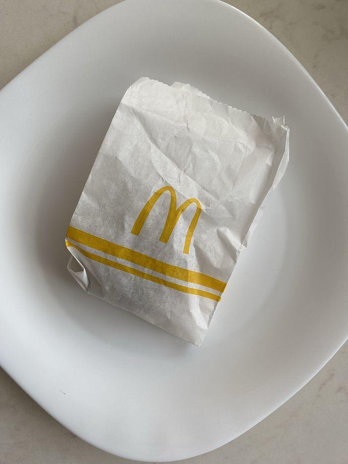 Falafel z McDonald's
