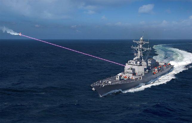 Marynarka wojenna USA odebrała broń laserową