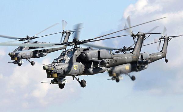 Rosyjskie śmigłowce szturmowe Mi-28N