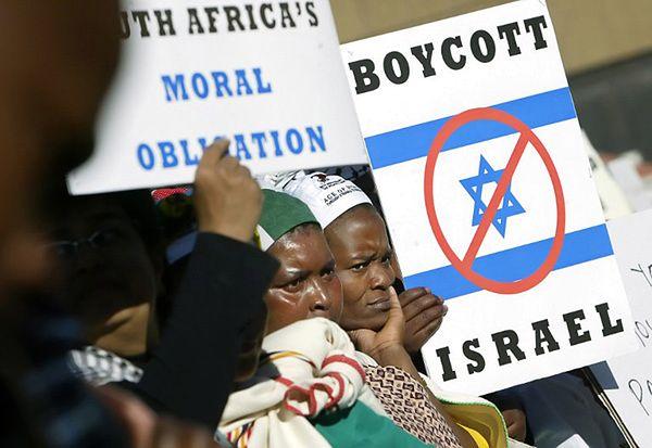 Antyizraelska demonstracja w Pretorii