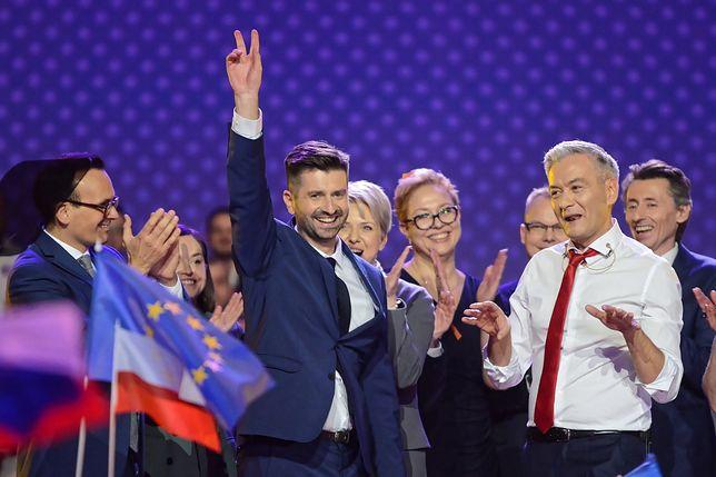 Krzysztof Śmiszek i Robert Biedroń