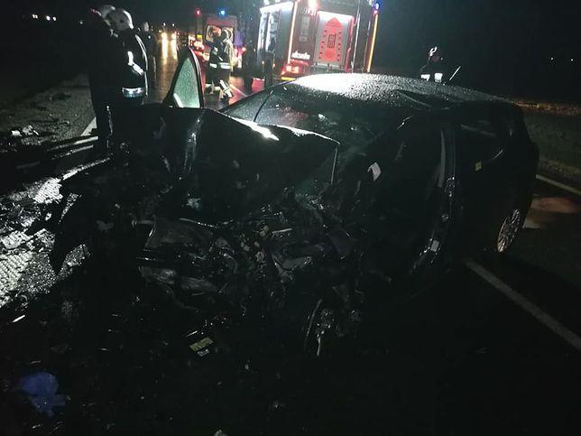 Do wypadku doszło na trasie DK 5