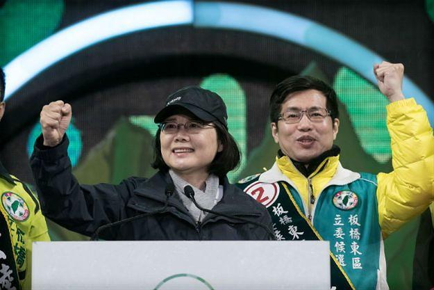 Liderka Demokratycznej Partii Postępowej - Tsaj Ing-wen