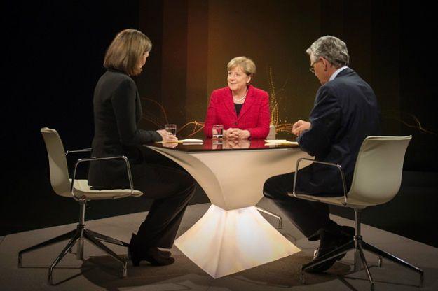 Angela Merkel w telewizji publicznej ZDF
