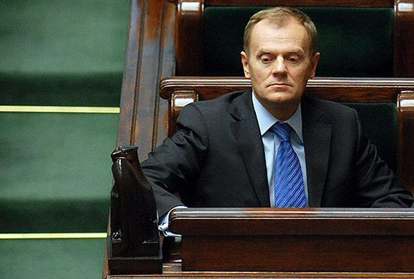 Donald Tusk skarcił posłów za głosowanie dot. byłego szefa CBA Mariusza Kamińskiego
