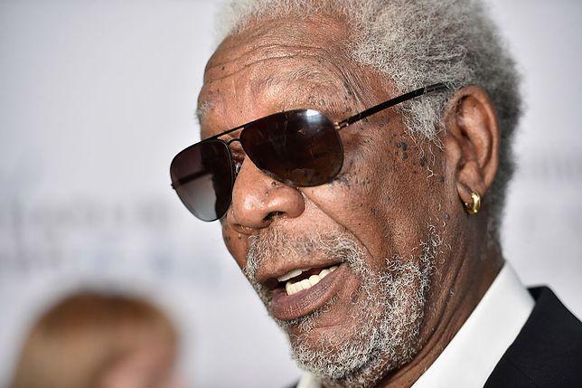 #dziejesiewkulturze: fani Morgana Freemana wreszcie poznali odpowiedź. Jego kolczyki to nie tylko ozdoba
