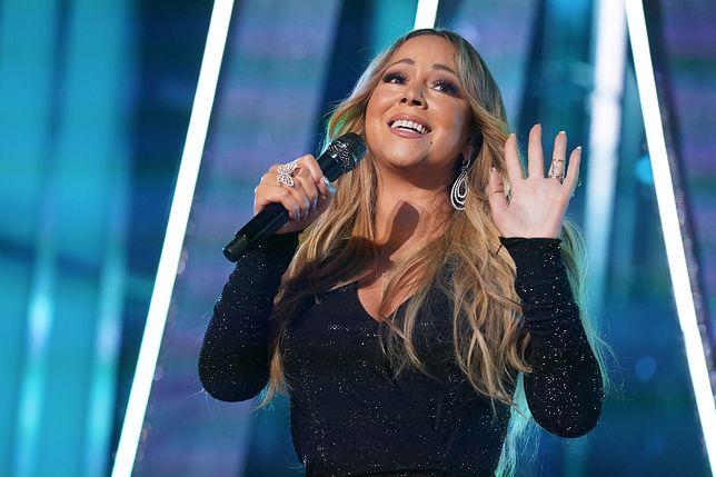 Mariah Carey na koncercie w Las Vegas w 2019 r.