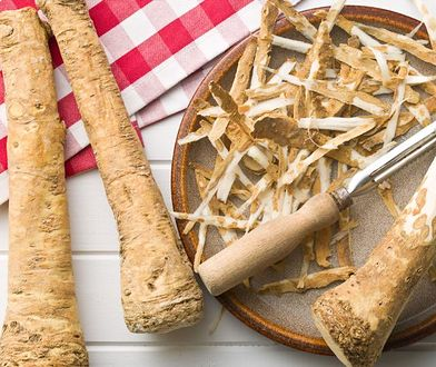 Korzeń chrzanu ma szerokie zastosowanie w kuchni, lecznictwie i zielarstwie.