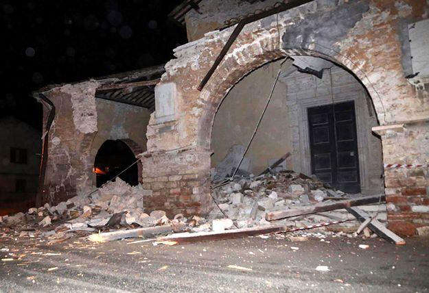 Trzęsienie ziemi we Włoszech. Odnotowano silne wstrząsy wtórme