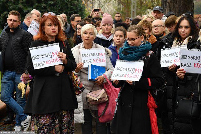 Gdańsk. Kilkaset osób domagało się reakcji ws. abp. Sławoja Leszka Głódzia