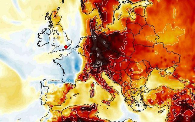 """Pogoda. """"Pia"""" sprawi, że już od poniedziałku nad obszar całej Polski rozleje się """"południowo-wschodni żar"""""""