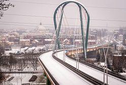 Bydgoszcz. Most Uniwersytecki grozi zawaleniem, trasa zamknięta
