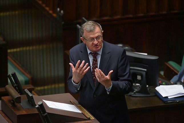 Wpadka polityka na antenie. Tadeusz Cymański przeprasza