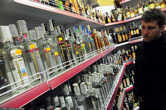 Sklep z alkoholem we Lwowie