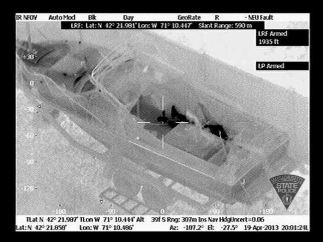 Dżochar Carnajew w oku kamery termowizyjnej - zdjęcia