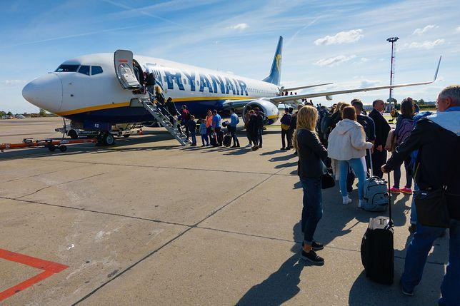 Ryanair zapowiedział kolejne nowe loty, w tym - dwa na Ukrainę.