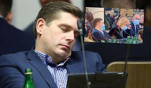 Bartosz Kownacki zasnął na sejmowej komisji? Posła PiS uchwyciła kamera (źródło: East News)