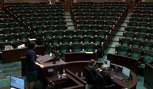 Kaja Godek wystąpiła w Sejmie. Wymowny gest opozycji