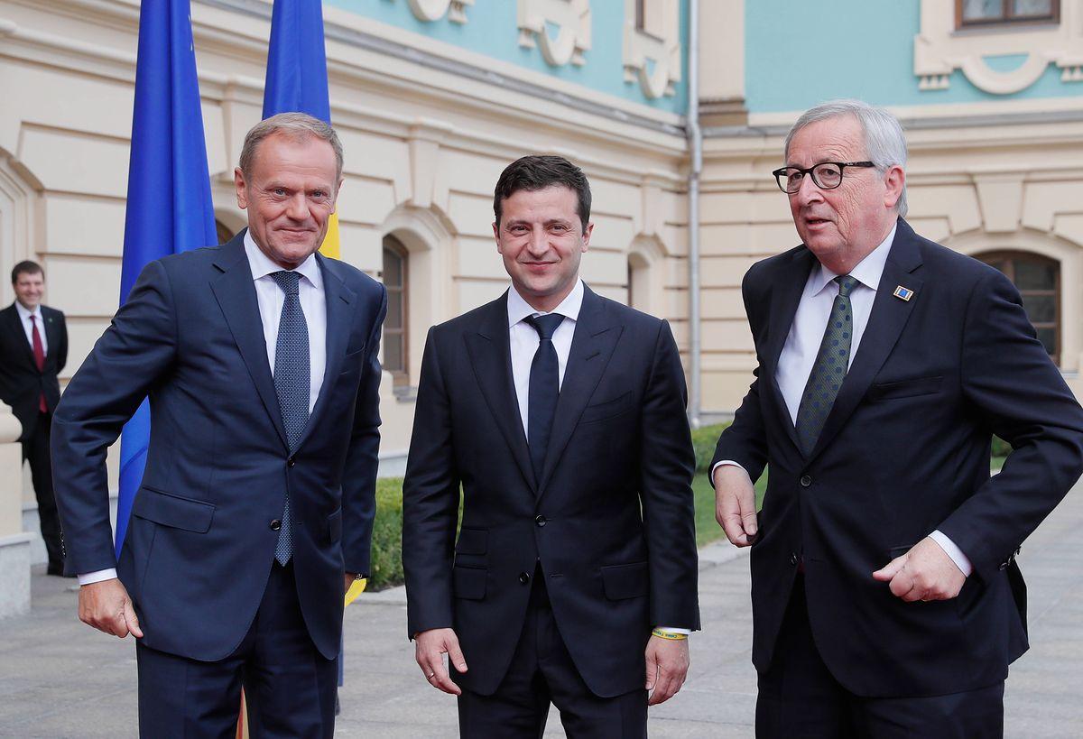 Przywódcy UE w Kijowie. Zapowiadają dalsze wsparcie dla Ukrainy