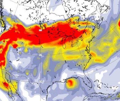 Pożary w USA. Naukowcy: gigantyczny dym dotarł do Europy