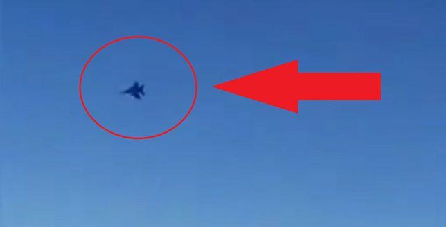 Myśliwce F-15 należące do USA zbliżyły się na niebezpieczną odległość do irańskiego samolotu