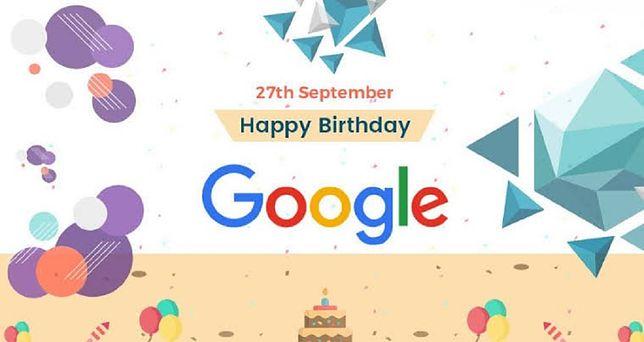 Google obchodzi 21 urodziny