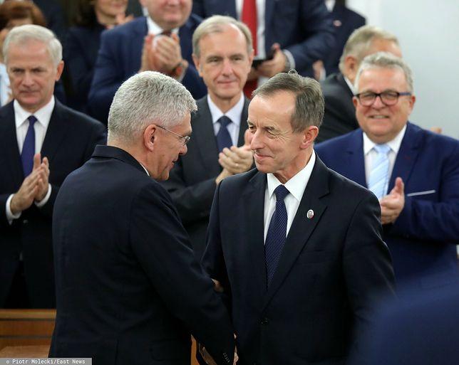 Tomasz Grodzki i Stanisław Karczewski nawzajem zaszczepią się przeciw COVID-19