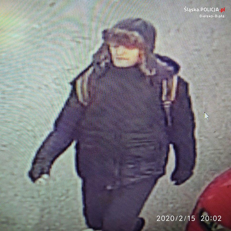 Napad na kobietę w Bielsku-Białej. Policja opublikowała rysopis mężczyzny